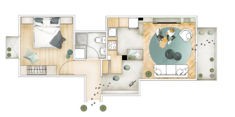 Apartment Patissia